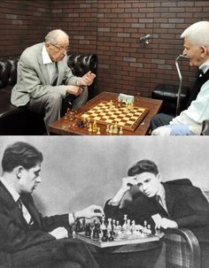 Chess: Yuri Averbakh & Boris Spassky reminisce after over 60 years (Moscow 2017)