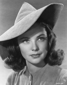 Old Hollywood Glamour, Vintage Hollywood, Classic Hollywood, In Hollywood, Hollywood Actresses, Actors & Actresses, Divas, Gene Tierney, Star Wars