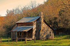 Parker Hickman Homestead near Erbie, Arkansas