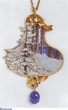 Lalique Winter scene