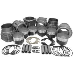 86mm Porsche 911 Piston & Cylinder Kit 2.2 & 2.4  #cars #wheels #tyres @alloywheels
