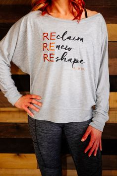 Reclaim, renew, reshape!  Let the world know you are REady!