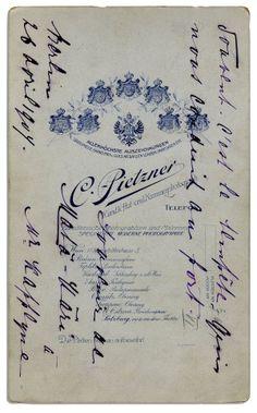 signed by Mata Hari