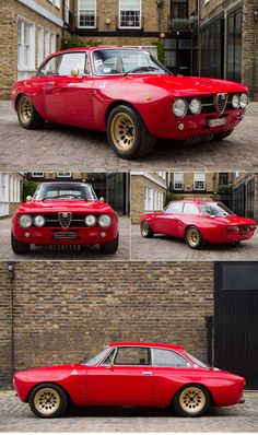 "To paraphrase another famous saying ""So many cars, so little time""!  1972 Alfa Romeo GTAm Evocazione."