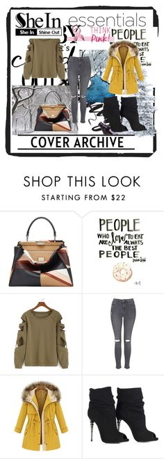 """""""SheIn contest"""" by dinka1-749 ❤ liked on Polyvore featuring Fendi and Topshop"""