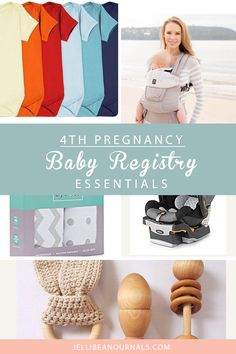 Fourth Pregnancy Baby Registry Must-Haves