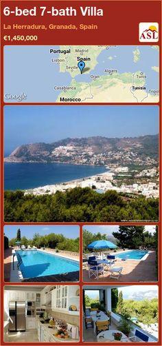 6-bed 7-bath Villa in La Herradura, Granada, Spain ►€1,450,000 #PropertyForSaleInSpain