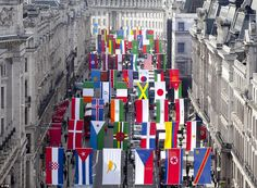 Flying the flag: (Front row, left to right) Croatia, Cuba, Cyprus, Czech Republic, North Korea, Democratic Republic of Congo, (second row) Denmark, Djibouti, Dominica, Dominican Republic, Egypt, (third row) Hungary, Iceland, India, Indonesia, Iran, Iraq, (fourth row) Ireland, Israel, Italy, Jamaica, Japan, Jordan, (fifth row) Kazakhstan, Kenya, Kiribati, South Korea, Kuwait, Kyrgyzstan, (sixth row) Laos, Latvia, Lebanon, Lesotho, Liberia, Libya, (seventh row) Liechtenstein, Lithuania…