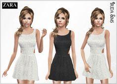 Irida-Sims: Zara dress