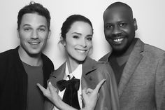 We can't wait for the future with the Timeless cast with Matt Lanter  and Abigal Spencer.