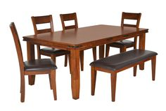 Lancaster 6 Piece Dining Set, $695