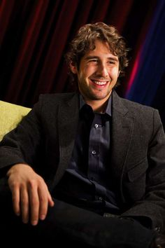 Josh Groban | he's cute in a nerdy way and that's so adorable! Plus he has a beautiful voice!