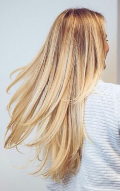 Gorgeous healthy hair.