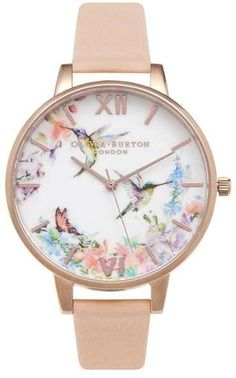 Olivia burton **hummingbird detail watch. Click the link to shop right now!