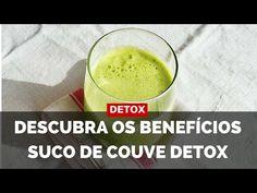 ➡ Veja agora quais são os benefícios do suco de couve para sua saúde. O detox é excelente para iniciar o processo de emagrecimento. Assista e anote as dicas!