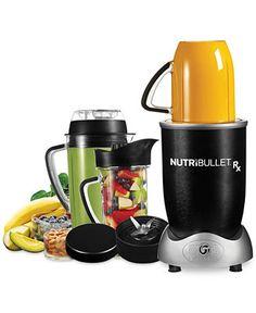 NutriBullet Rx 1700-Watt Blender by Magic Bullet - Electrics - Kitchen - Macy's
