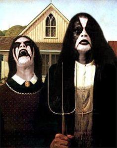 Norwegian metal American Gothic