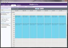Brightsign calendar