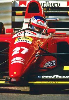Jean Alesi su Ferrari F93A 1993