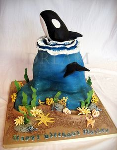 Orca Cake | Flickr - Photo Sharing!