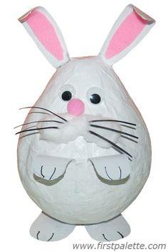Papier Mache Bunny Craft | Kids' Crafts | FirstPalette.com