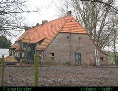 Eindhoven-Gestel - Boerderij Kapteijns aan de Ontginningsweg - gesloopt in 2007.
