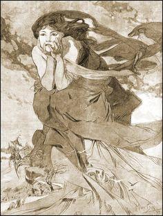 Art by Alphonse Mucha (1899)