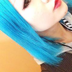 ayaka @ayaka_021270 青くした。いい感...Instagram photo   Websta (Webstagram)