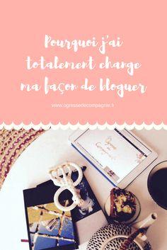 Changer sa façon de bloguer