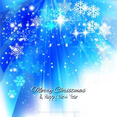Blue Sparkles Christmas Background with Snowflakes Free Christmas Backgrounds, Christmas Background Vector, Snowflake Background, Background Design Vector, Light Blue Background, Background Templates, Blue Background Wallpapers, Blue Backgrounds, Winter Backgrounds