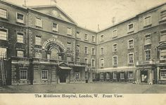 The+Middlesex+Hospital,Front+view