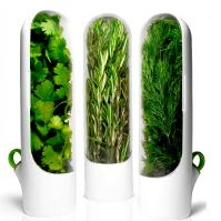 Herb pods to prolong the life of fresh herbs.