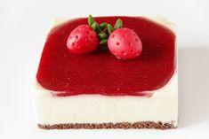 dortik_pena_z_bile_cokolady Cheesecake, Food, Cheesecakes, Essen, Meals, Yemek, Cherry Cheesecake Shooters, Eten