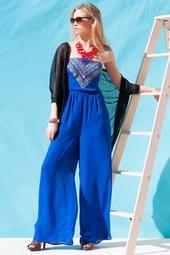 Francescas: Havasu Embroidered Jumpsuit
