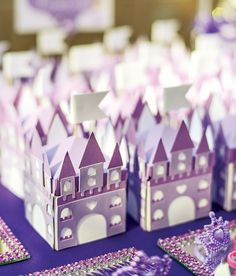 Purple Sofia the First Princess Party // Hostess with the Mostess® Purple Princess Party, Princess Sofia Party, Princess Party Favors, Disney Princess Party, Princess Castle, Sofia The First Birthday Party, Dragon Birthday Parties, Girl Birthday Themes, Birthday Ideas