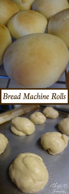 These Bread Machine Rolls will pair perfectly with your easy dinner recipes. You'll have them ready in a snap because the bread machine does all the work!