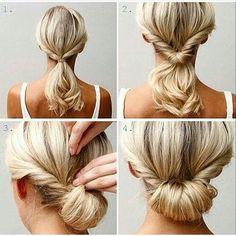 Ideia muito legal de penteado no estilo Faça Você Mesma que encontrei no ig @projetonoivaemadrinha. Você pode usar uma coroa de flores para incrementar e arrasar! E aí, o que achou? Você faria para usar em que ocasião: 1) Noivado 2) Chá de panela ou 3) Casamento?