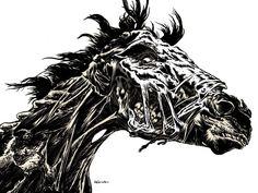 Zombie Horse John rides