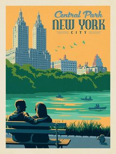Anderson Design Group – American Travel – New York: Central Park Bench