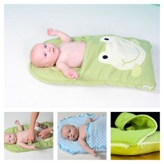 The Baby Nap Mat from zCush is a lightweight, cushiony mat designed to place a newborn for comfort and security. It is perfect for Baby Shower Gifts, Christening Ceremonies, Social Visits, Outdoor Picnics, Naptime or Playtime. This doesn't look very complicated, we found two version for reference. If you aren't good at sewing like me,