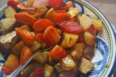 Eten maken: Ovenfeest: biet, knolselderij en wortel