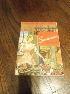 1959 The Scandinavian Cookbook  159 Recipes from Norway Sweden And Denmark  Culinary Arts Institute