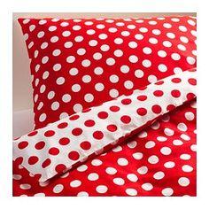 Bettwäsche - IKEA Mag ich total, passt aber nicht zu Lila und Türkis :D