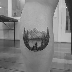Lets Climb High - Wild Tattoo Art mountain tattoo 125 Best Mountain Tattoos! Lets Climb High - Wild Tattoo Art Tattoo Tribal, Tattoos Geometric, Tattoos Skull, Dog Tattoos, Sleeve Tattoos, Tattoo Art, Tatoos, Tattoo Girls, Tattoos For Guys