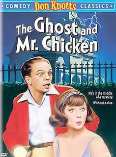 The Ghost and Mr. Chicken DVD (1966) Starring Don Knotts; Directed by Alan Rafkin; Universal Studios $9.35 on OLDIES.com