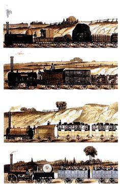 Locomotora de vapor de Stephenson de 1825