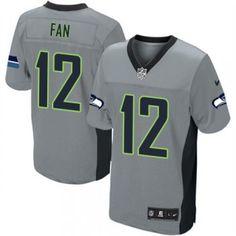c0e929a29 Package - mail cheap jerseys!Nike Seattle Seahawks 12th Fan Elite Grey  Shadow Men NFL