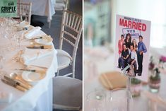 TV show inspired table names. A real wedding by Couple Photography Table Names, Wedding Table Decorations, Couple Photography, Real Weddings, Seasons, Inspired, Tv, Couples, Inspiration