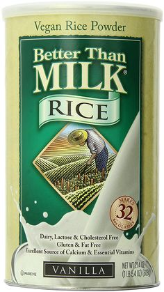 Better Than Milk Vanilla Vegan Rice Powder, 21.4 Ounce *** Click on the image for additional details.