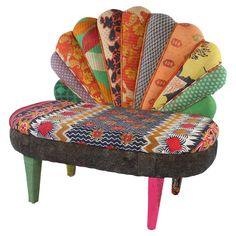Peacock Love Chair I